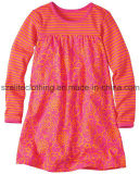 100 Cotton Long Sleeve Kids Autumn Clothes (ELTCCJ-117)