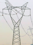 500 Kv Linear Power Transmission Steel Tower