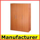 Wholesale Cheap Modern Melamine Wooden Bedroom Wardrobe Design