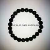 Natural Crystal Black Tourmaline Faceted Beaded Charming Bracelet