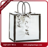 Black & White Vienna Shoppers Customized Packing Packaging Biodegradable Kraft Paper Bag
