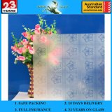 3-6mm Am-19 Decorative Acid Etched Frosted Art Architectural Glass