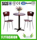 Dining Furniture Wooden Coffee Table and Chairs