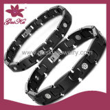 Classic Black Ceramic Bracelet (2015-Cmb-017)
