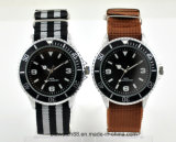 Hot Selling Mens Nato Band Wrist Watch with 3ATM Waterproof