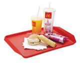 Plastic Food Serving Tray Snack Tray Restaurant Tray