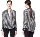 OEM Women Clothing 2015 New Design Chiffon Ladies Blouse