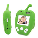 2.4GHz Wireless 2.4 Inch Color LCD Baby Monitor with 2.0MP Security Surveillance Camera, Night Vision and Alarm