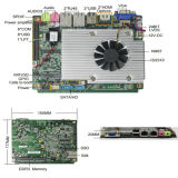 Intel Hm67 Chipsets Integrated Firewall Motherboard with 2 LAN