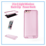3000mAh for iPhone Ultra Slim Thin Battery Case 2 in 1 Back Clip Power Bank with Excellent Touch Feeling