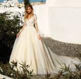 2017 Wedding Dress with Long Sleeves