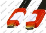 2014 Cheapest Dual Color HDMI Flat Cable