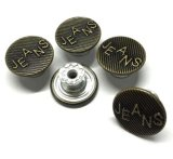 High Quality Nickle and Lead Free Grament Jeans Button