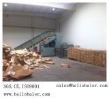 Automatic Hydraulic Balers for Cardboard with CE Certificate