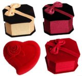 Jewelry Box Wholesale/ Velvet Jewellery Box/ Finger Ring Box
