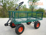 High Grade Steel Meshed Garden Cart with Heavy Duty China Manufacturer (TC1840A)