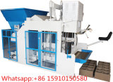 Qtm10-15 Automatic Mobile Block Machine Hollow Block Egg Layer Brick Machine