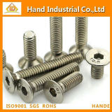 Ss304 Screw Hex Socket Countersunk Head Screw
