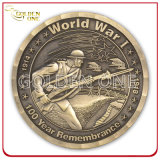 Factory Direct Supply Custom High Quality Brass Us Army Coin