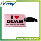 PVC Rubber Travel Luggage Tag for Promotion