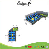 Indoor Updated Superb Gymnastic Jump Zone Trampolines for Equipment