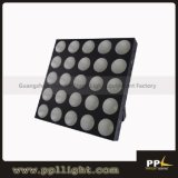 DMX 25PCS*30W RGB 3in1 LED Matrix Lighting Audience Blinder Light
