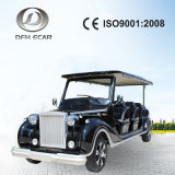 Factory Offered Directly Classical Designed 12 Seater Electric Cars Hotel