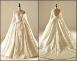 Real Photos Bridal Gowns A-Line Beads Wedding Dresses Z2008