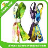 Single Cheap Custom Festival Woven RFID Fabric Wristband