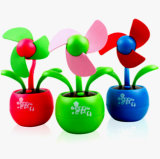 Mini USB Apple Flower Fan with Logo Printed (4021)