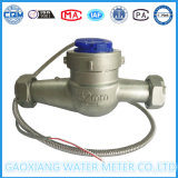 Dn32mm Stainless Steel 304 Multi Jet Dry Dial Water Meter
