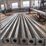 12m Galvanized Steel Street Light Lamp Poles