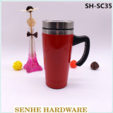 450ml Stainless Steel Auto Seal Mug with Handle (SH-SC35)