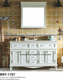 60 Inch Classical Bathroom Vanity Cabinet Solid Wood