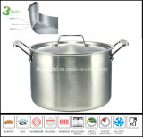 3 Layer Big Casserole Pot Stainless Steel Casserole