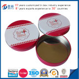 Free Sample Round Shaped Metal Tin