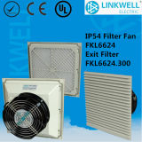 2016 Hot Selling High Protection IP54 Fan with Filter (Fkl6624)