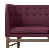 (SD-6006) Modern Hotel Restaurant Office Wooden Leisure Fabric Sofa