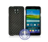 Universal Smartphone Rubberized PC Case 100% Real Carbon Fiber Cover for Samsung Galaxy S5