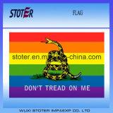 Gay Pride Design Dont Tread on Me Flag