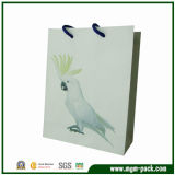 Hot Selling Promotional Paper Shopping Bag with Parrot Pattern