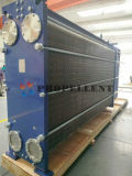 Movable Plate Heat Exchanger for Processing Heating or Cooling