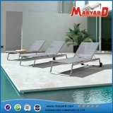 Classic Outdoor Sling Textile Plastic Sun Lounger Garden Furniture Poolside Loungebed