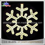 80cm Flash Christmas Light Snowflake Suction Light