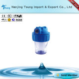 """5"""" Clear Housing Filter with Cooper Thread Ty-It-1"""