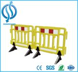1m Yellow Portable Traffic Safety Plastic Barrier
