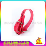 Customized Soft Rubber Dog Collar, PVC Waterproof Silicone Dogs Collars