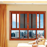 Feelingtop Thermal Break Double Tempered Glass Custom Aluminium Sliding Window Manufacturer