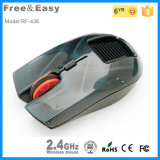 PC 2.4G Wireless Solar Mouse with Fancy Comfort