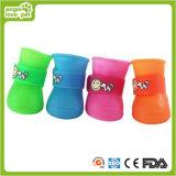Fashion Comfortable Colorful Rain Shoes Pet Roduct